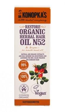 Органично възстановяващо билково масло за коса №52 – 30 мл