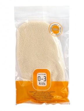 Мека ръкавица за деца от био памук