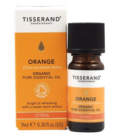 Био етерично масло от сладък портокал - 9/30 мл, Tisserand® Aromatherapy,  9 мл,  30 мл