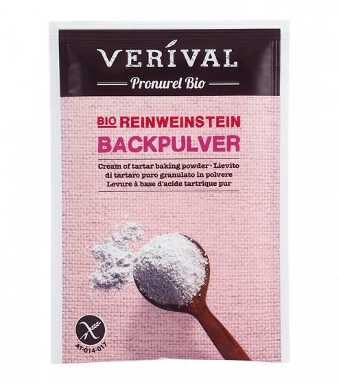 Био бакпулвер с винена киселина - 68г, Verival,  68 г