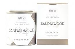Scented Candle - Sandalwood, I/TEMS,  1 pcs,  1 pcs