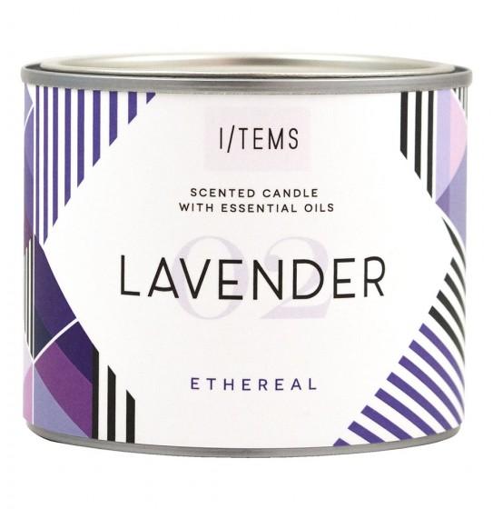 Ароматна свещ - Lavender, I/TEMS,  1 бр,  1 бр