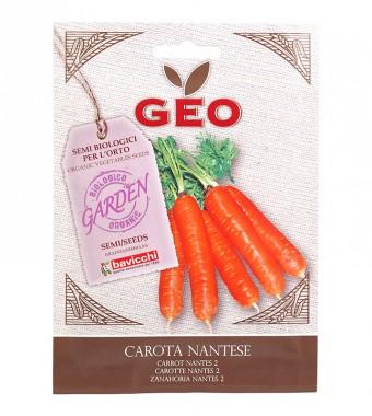 Био семена - Моркови сорт Nantes - 4 гр.