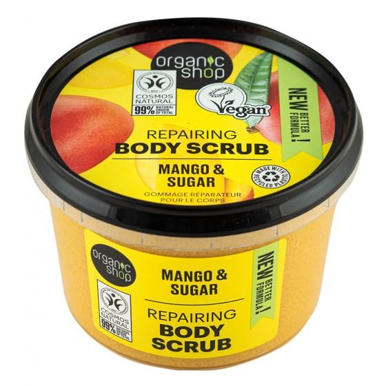 """Organic Shop - Скраб за тяло """"Кенийско манго"""" - 250 мл, Organic Shop,  250 мл"""