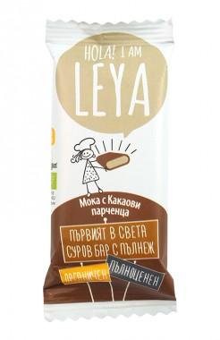 Organic Raw Bar with Filling - Mocha & Cacao Nibs