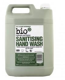 Течен сапун за ръце с розмарин и мащерка - 500 мл /  5 л