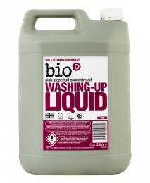Биоразградим препарат за съдове с грейпфрут - 750 мл / 5 л, Bio-D,  750 мл,  5 мл