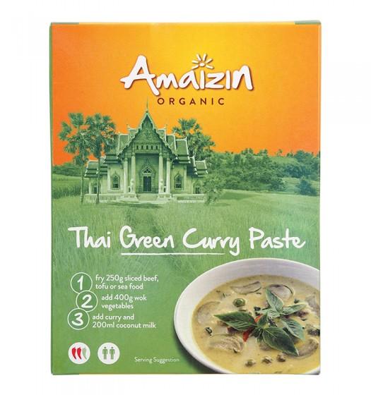 Паста за зелено тайландско къри - 80 г, Amaizin,  80 г