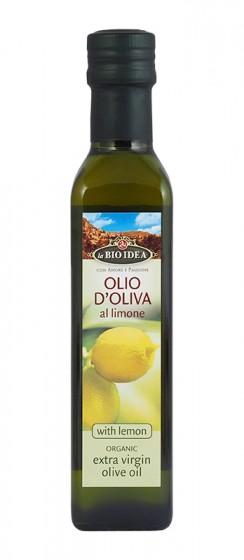 Био екстра върджин зехтин с лимон - 250 мл, La BIO IDEA,  250 мл