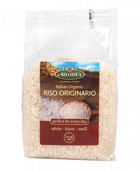 Био бял ориз Originario - 400 гр, La BIO IDEA,  400 г
