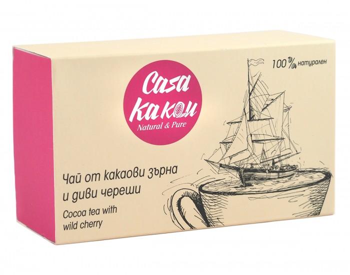 Чай от какаови зърна и диви череши - 36 г,  36 г