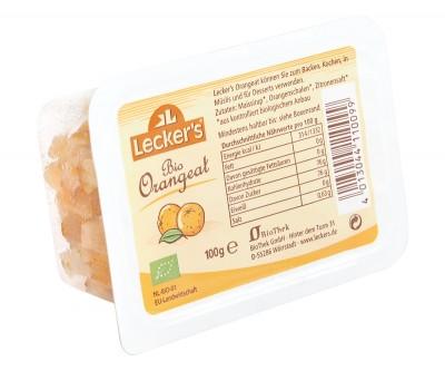 Organic Candied Orange Peel - 100g