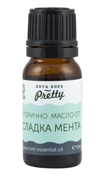 Етерично масло от сладка мента - био - 10 мл, Zoya Goes Pretty ®,  10 мл