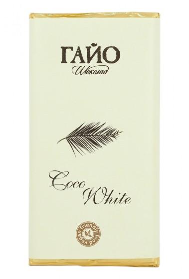 White Chocolate Bar Coco White - 80g, Gaillot Chocolate,  80 g