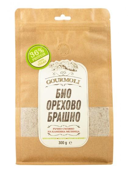 Орехово брашно от био ядки - 300 г, Gourmoli,  300 g