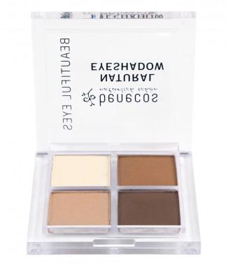 Сенки за очи 4 цвята - Coffee & cream
