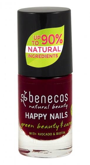 Лак за нокти Cherry red - 5 мл, Benecos,  5 мл