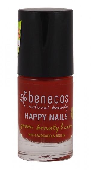 Лак за нокти Vintage red - 5 мл, Benecos,  5 мл
