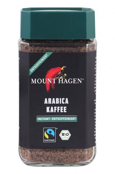 Био безкофеиново разтворимо кафе – 100 гр, Mount Hagen,   г