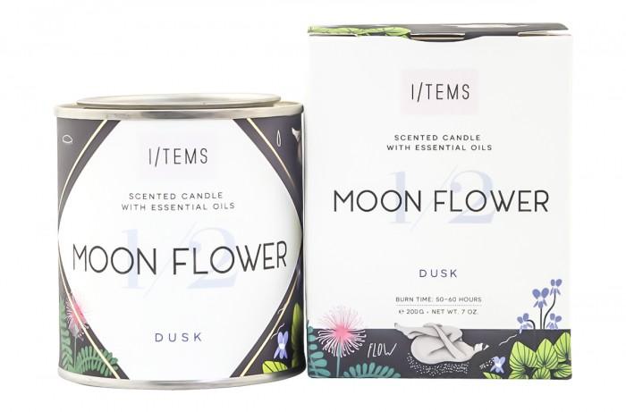 Ароматна свещ - Moon Flower, I/TEMS,  1 бр
