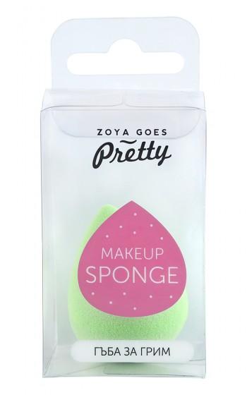 Гъба за нанасяне на грим - зелена, Zoya Goes Pretty ®,  1 бр