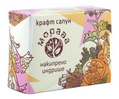 Натурален ръчно направен сапун Индрише - 100 г