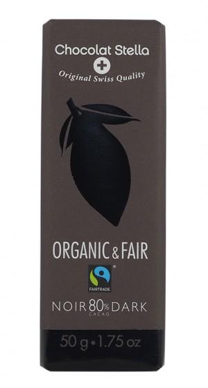 Био черен шоколад 80% - 50 г,  50 г