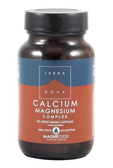 Калций - магнезий комплекс - 50 капсули, Terra Nova,  50 бр