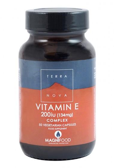 Витамин E 200IU комплекс - 50 капсули