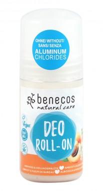 Натурален рол-он дезодорант Кайсия и цвят от бъз - 50 мл