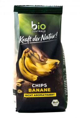 Organic Banana Chips - 150g