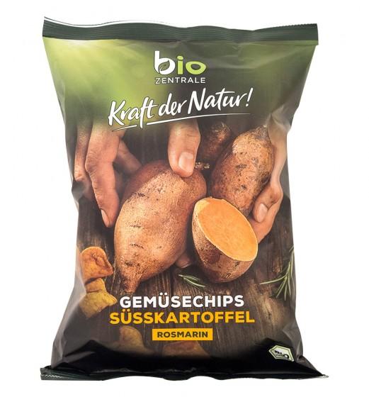 Био чипс от сладки картофи - 75 г, Bio Zentrale,  75 г