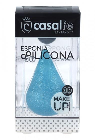 Силиконова 3D гъба за грим, CasalFe,  1 бр