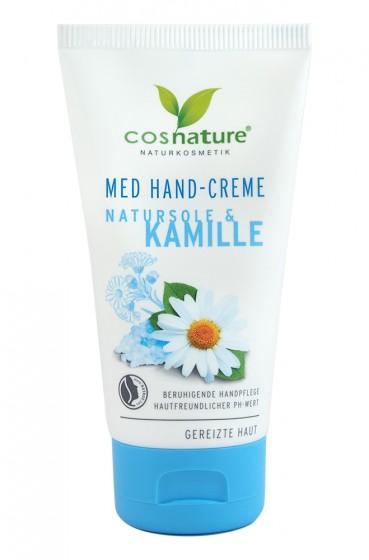 Крем за ръце с лайка и натурални соли - 75 мл, Cosnature,  75 мл