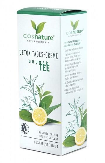 Дневен крем със зелен чай - 50 мл, Cosnature,  50 мл
