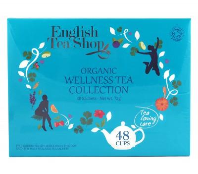 Колекция био чай Wellness - 48 пакетчета/6 вида