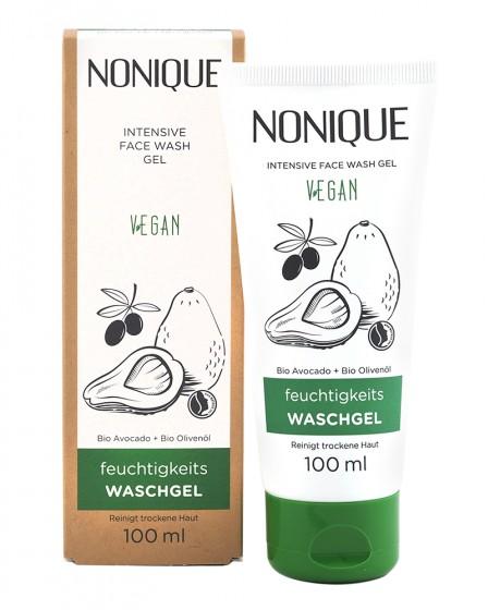 Овлажняващ измиващ гел за лице - 100 мл, Nonique,  100 мл
