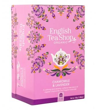 Органичен чай с лайка и лавандула