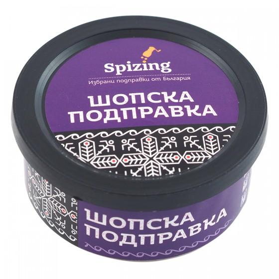 """Шопска подправка """"Вкусът на България"""" - 30 г, Spizing,  30 г"""