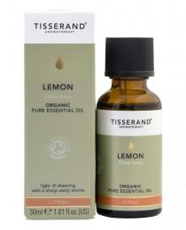 Био етерично масло от лимон - 9 / 30 мл, Tisserand® Aromatherapy,  9 мл,  30 мл